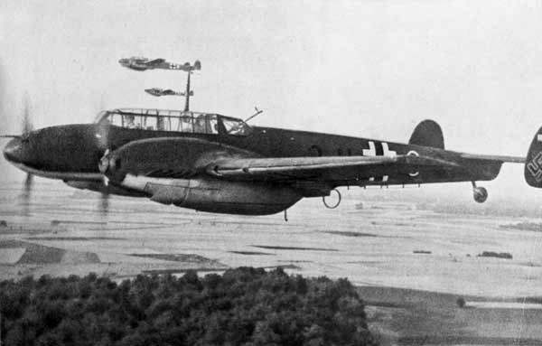 BF 110s